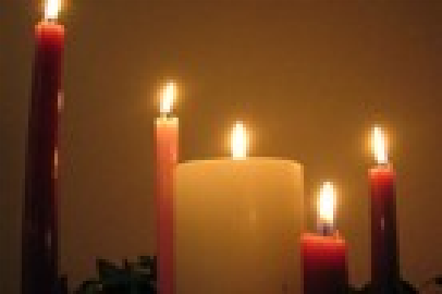 Advent Candle set for the Home