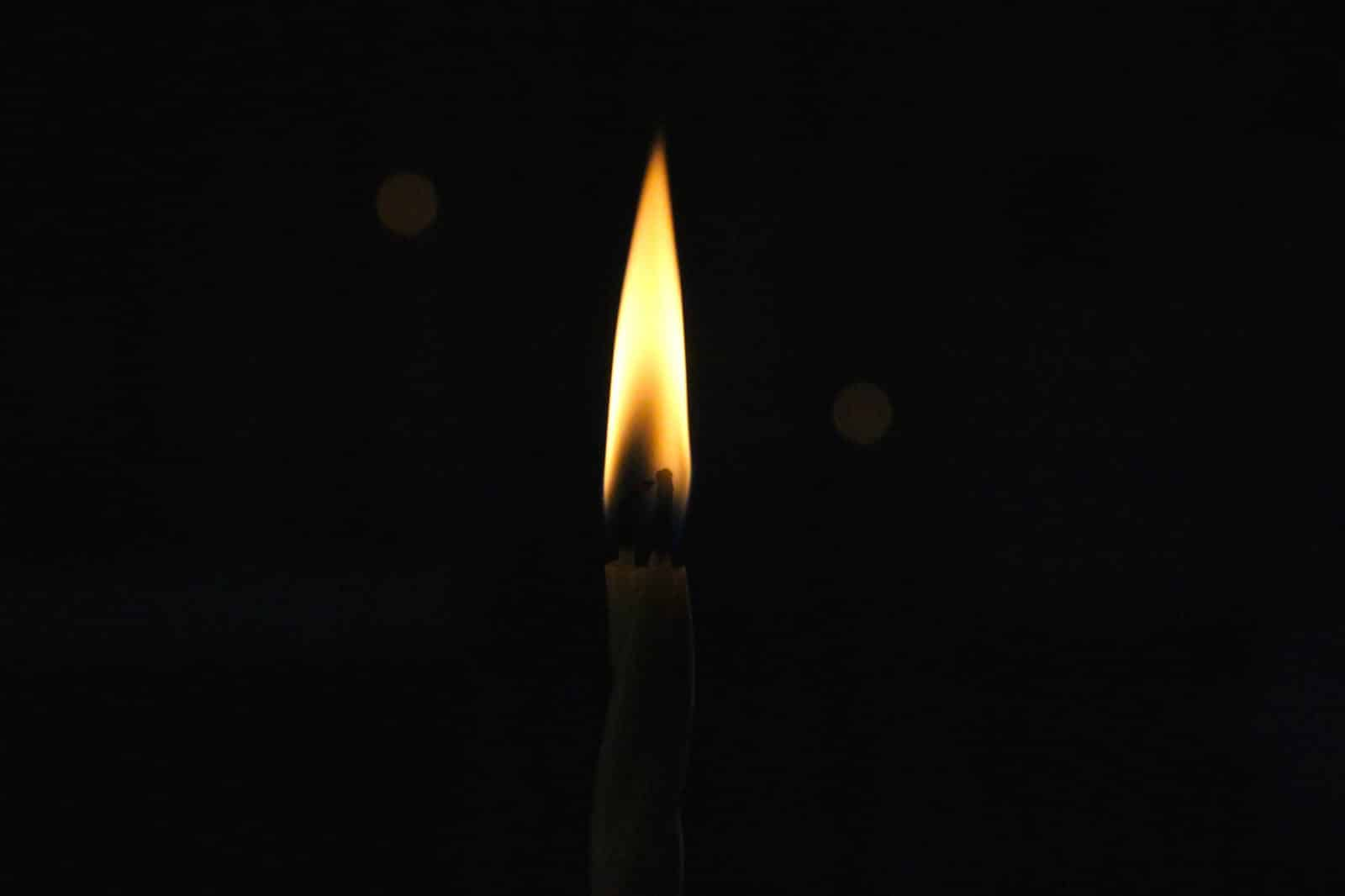 Long-burning 100% Beeswax artisan candles from St. Andrews of Lake Almanor