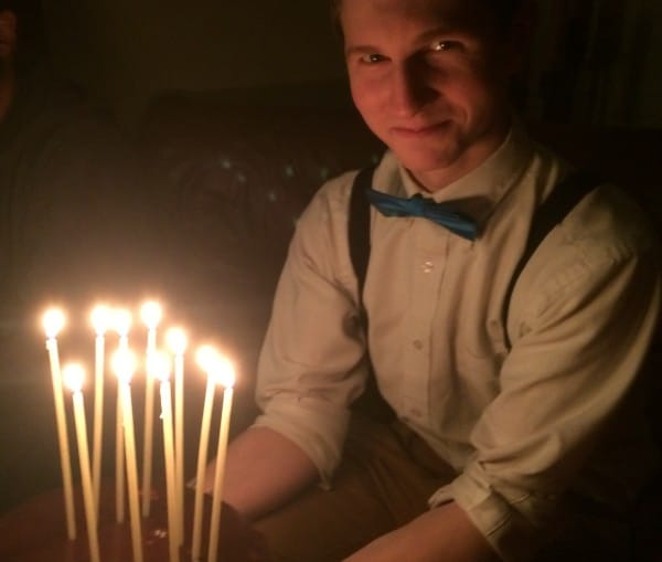 100 Beeswax Birthday Candles