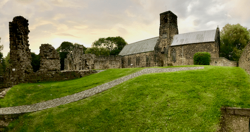The remains of Jarrow Abby